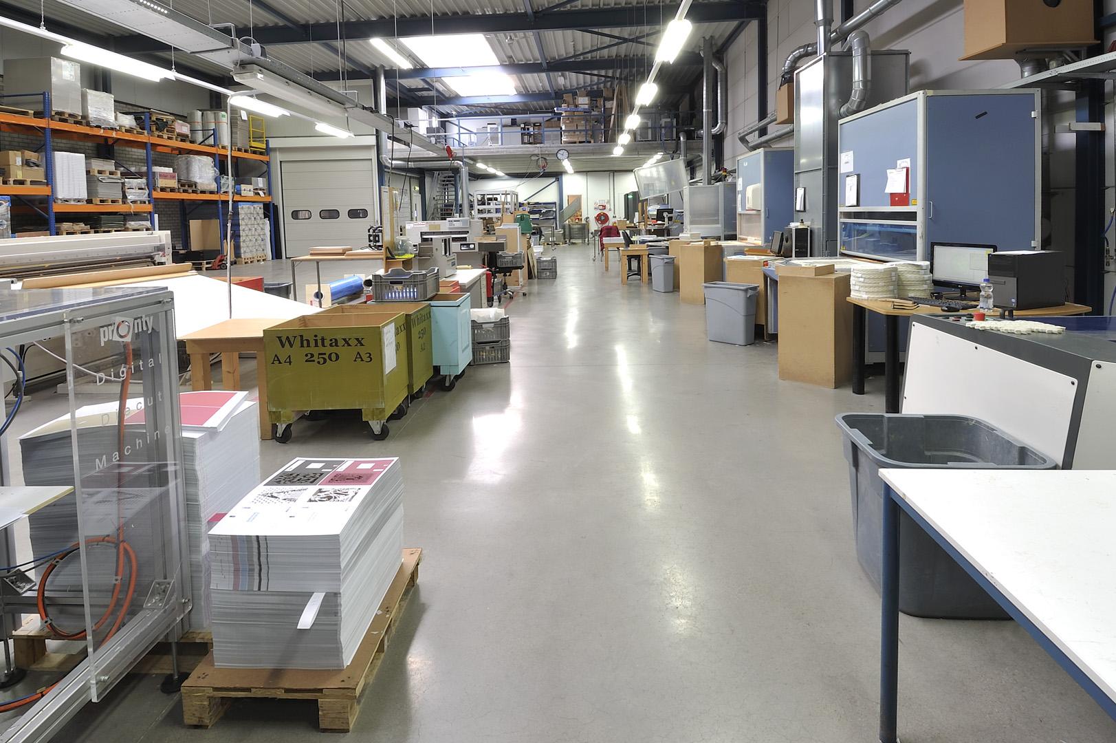 Laser productie hal Yart Factory