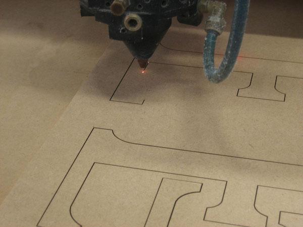 Laser die cutting